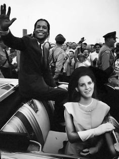 Lana Del Rey and Asap Rocky in National Anthem video