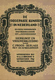 Sierkunst en vrouwenkleeding / door C. Proos-Berlage. - Rotterdam : Brusse, 1927.  Available in library @TextielMuseum | TextielLab