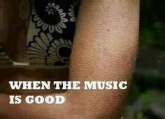 Music that gives you goosebumps