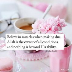 Believe in Allah when make Quran Quotes Love, Muslim Love Quotes, Beautiful Islamic Quotes, Allah Quotes, Islamic Inspirational Quotes, Religious Quotes, Faith Quotes, Words Quotes, Islamic Qoutes