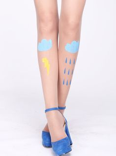 faye. Cloud Print Nude Tights  http://www.udobuy.com/goods-6649.html#