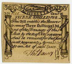 Monies in the New England American Colonies (Part II) History Of Capitalism, Top Reads, Paul Revere, New England, Colonial, American, Connecticut, Cod, Image