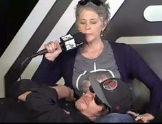Daryl Carol Melissa McBride Norman Reedus The Walking Dead