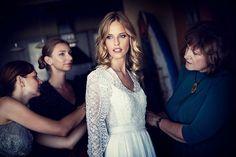 Julien Scussel Wedding Photography / Dress: Tamuna Ingorokva