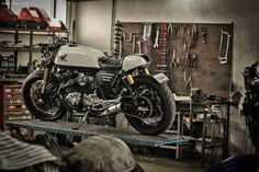 Honda CB750 Boldor Cafe Racer by Classic Way Atelier #motorcycles #caferacer #motos | caferacerpasion.com