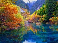 Jiouzhaigou Valley, China - looks amazing