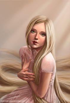 Rapunzel by strannaya-anna