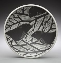 P1-Bird Bowl.jpg - 2009 Porcelain - Gallery - Ceramic Arts Daily Community
