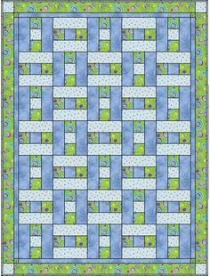 Elegant 3 Fabric Quilt Idea Gallery 3 Fabric Quilt Idea - This Elegant 3 Fabric Quilt Idea Gallery photos was upload on December, 10 2019 by admin. Here latest 3 Fabric Quilt Idea photos. Quilt Baby, Colchas Quilt, Quilt Blocks, Jellyroll Quilts, Scrappy Quilts, Easy Quilts, Quilting Tutorials, Quilting Projects, Quilting Designs