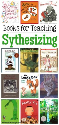 Books for Teaching Synthesizing - This Reading Mama