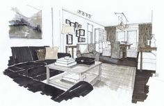 Coastal Country in Ucluelet BC, Michelle Morelan Design and Rendering