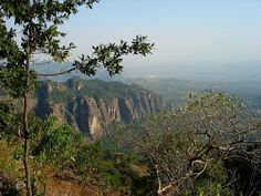 View from the mountains of Tepoztlán.