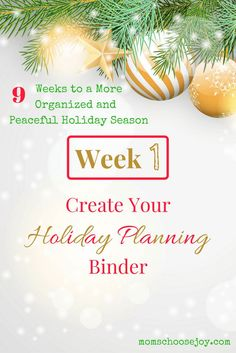 Check out this series to help you get organized for the holidays. In Week you'll create your Holiday Celebration Plan to celebrate Advent. Christmas Planner Free, Holiday Planner, Christmas Planning, Christmas Countdown, Organized Christmas, Christmas Preparation, Christmas Printables, Budget Holidays, Winter Holidays