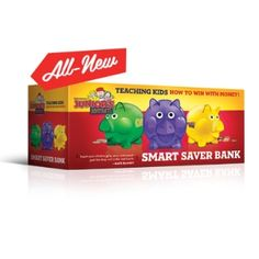 No one teaches financial management better than Dave Ramsey and with his NEW Junior's Adventures, Smart Saver Bank you'll be teaching your kids good habits. Teach your kids how to give… Total Money Makeover, Budgeting Money, Budgeting System, Dave Ramsey, Teaching Kids, Teaching Money, Managing Money, Money Management, Learning Activities