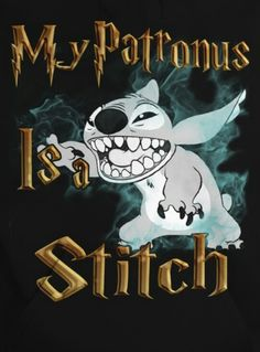 Seriously though. I have an obsession with Stitch. He is definitely my patronus. <---- SAME