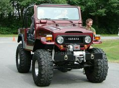Toyota Fj40, Toyota Fj Cruiser, Toyota Trucks, Toyota Cars, Hummer Truck, Jeep Truck, Daihatsu, Best Off Road Vehicles, Nissan