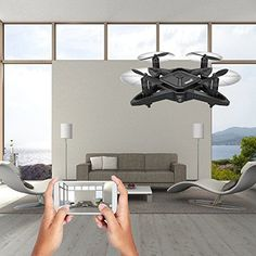 Mini Drone with HD Camera Foldable 6 Axis Gyro Altitude Hold One Key Return Nano Turn Left Turn Right, Drone With Hd Camera, Take Video, Technology Gadgets, Hold On, Ceiling Lights, Key, Mini, Unique Key