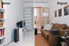 Deixar o lar provisório com jeito de casa própria é possível! Confira sugestões sem quebra-quebra e de baixo custo para repaginar a sala de estar.