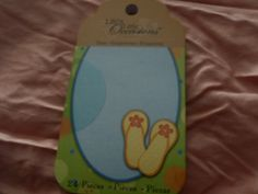 Seim's Awareness N Thrift - Life's Little Occasions - Vacation Tag Pad Embellishments, $2.00 (http://www.seimsawarenessnthrift.com/lifes-little-occasions-vacation-tag-pad-embellishments/)