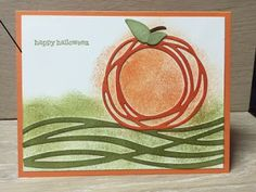 Stamp with Anna: Stampin Up, Halloween, Swirly Scribbles