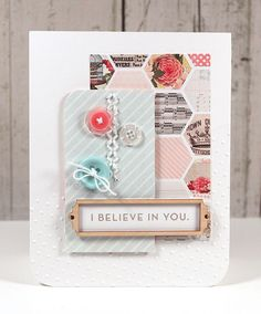 Simon Says Stamp Blog!: I Believe in You Card by Kristina Werner