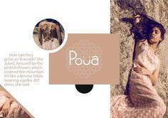Poua: Maxi dress, color: powder pink, details: polka dots & flowers on the back, size: Onesize.  Made in Greece, Fashion design: Sarra Sarri Photographer: Agnes Mara, Model: Vaia Kathiotou. Graphic design & text: David Atanasovski.