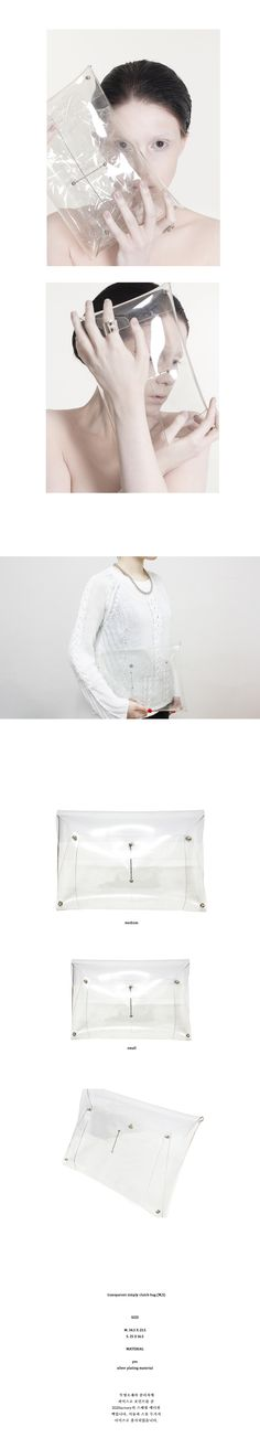 transparent clutch by 202 Factory