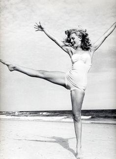 keep dancing... on a beach