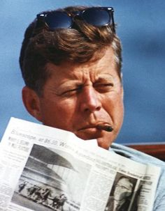 We need another president that wears raybans and smokes a stogie.