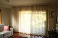 Beautiful sheer curtains to let the light in! Sheer Curtains, Design Bedroom, Interior Design, House, Beautiful, Home Decor, Nest Design, Homemade Home Decor, Net Curtains