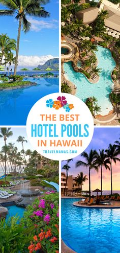 The Hawaiian Islands are paradise for pool lovers. Dive into this list of the best hotel pools in Hawaii, recommended by travel experts. Waterfalls, water slides, and incredible views make this list of Hawaiian swimming pools particularly dreamy. #pools #hawaii #lethawaiihappen #familytravel Hawaii Vacation Tips, Family Vacation Destinations, Vacation Trips, Travel Destinations, Maui Travel, Travel Usa, Travel Tips, Travel Articles, Travel Guides