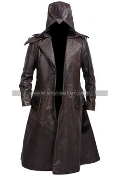 Evie Frye Assassin's Creed Syndicate Leather Coat