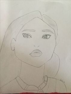 Draw Pocahontas