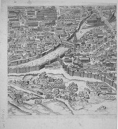 "Pirro Ligorio's ""Antiquae Urbis Romae Imago"" (Image of the Ancient. Ancient Ruins, Ancient Rome, Rome Map, City Drawing, Greek History, Italy Tours, Amazing Pics, Roman Empire, Maps"
