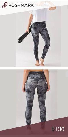 NWT 💞💞 LULULEMON WUNDER UNDER PANT HR FULL LUX RARE  Size: 10  Color: MITB  FULL LUX lululemon athletica Pants Leggings