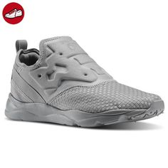 9e37cd3ecf9 Reebok Furylite Slip-On WW - Tin grey - 46 - Reebok schuhe (