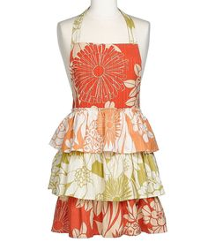 Love this Tropical Trio Apron - Women by Design Imports on #zulily! #zulilyfinds