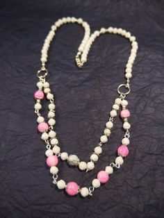 Beaded Multi-strand Chain Necklace