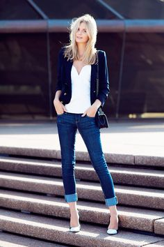 Strapless Top   Fitted Blazer