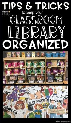 How is your classroom library organized? Redo your organization with these free classroom library labels!