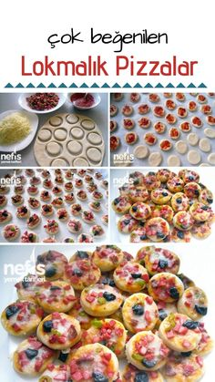 Lokmalık Pizza Recipes How is it done? 36 840 pictorial narrative Lokmalık pizza recipe in the book of photographs of people and tried here. Pizza Recipes, Cooking Recipes, Turkish Pizza, Good Food, Yummy Food, How To Make Pizza, Albondigas, Margarita Recipes, Turkish Recipes