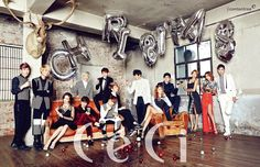 Sistar, K.Will, Boyfriend - Ceci Magazine December Issue '14