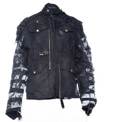 Junker Harlock jacket from new and recycled materials.