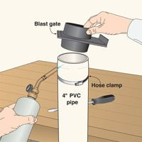 Shrink PVC pipe for your ductwork needs