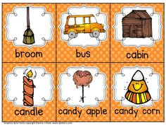 Live, Love, Laugh Everyday in Kindergarten: Fall Read The Room FREEBIE