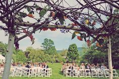 Vermont Rustic Wedding Setting