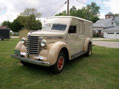 1947 Diamond T Panel Truck