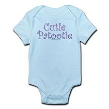 Cutie Patootie Infant Creeper for
