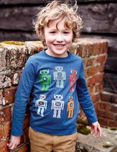 Had to pin because this boy looks so much like E! - Multi Logo T-shirt