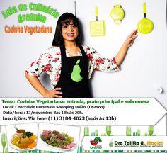 Aula de culinária gratuita (Shopping União)